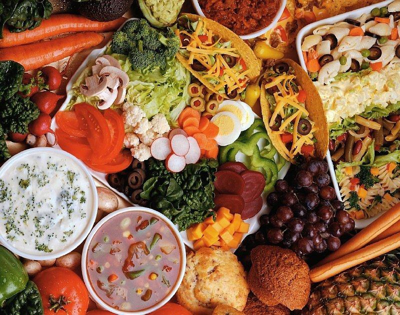 Продукты и блюда здорового питания