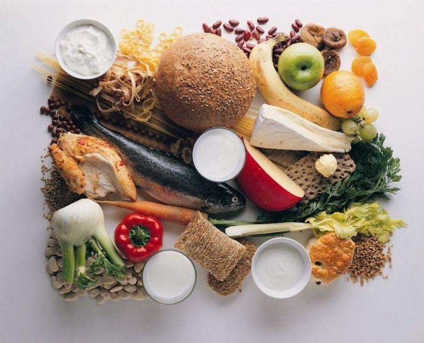 Продукты, являющиеся основой питания при приёме Глюкофажа