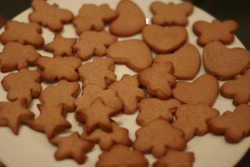 Бодрящее дю-печенье с имбирем