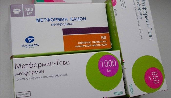 Таблетки Метформина